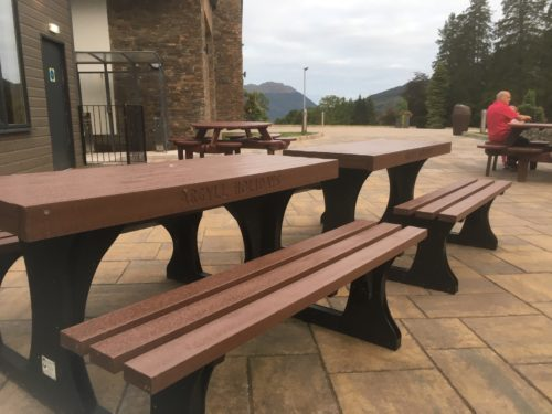 duraplas profiles used in bench