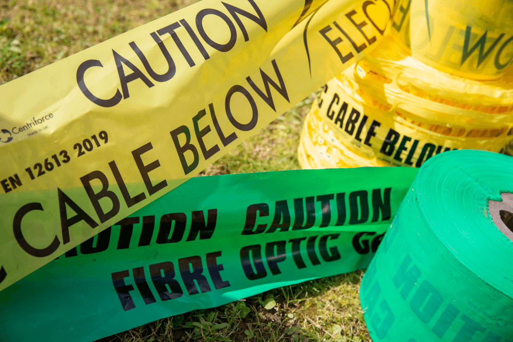locata detectable underground warning tape