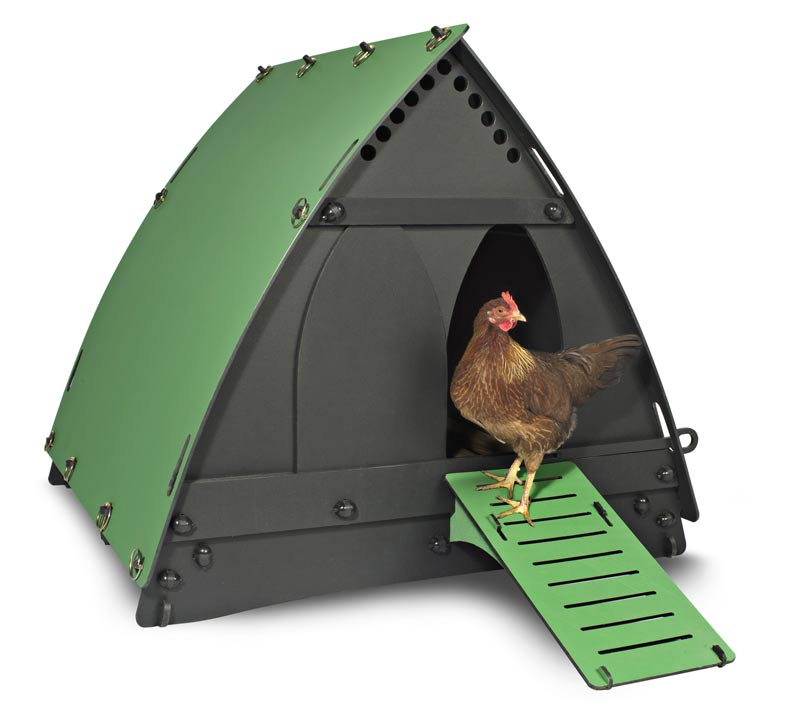 Stokboard sheet used to create chicken coop