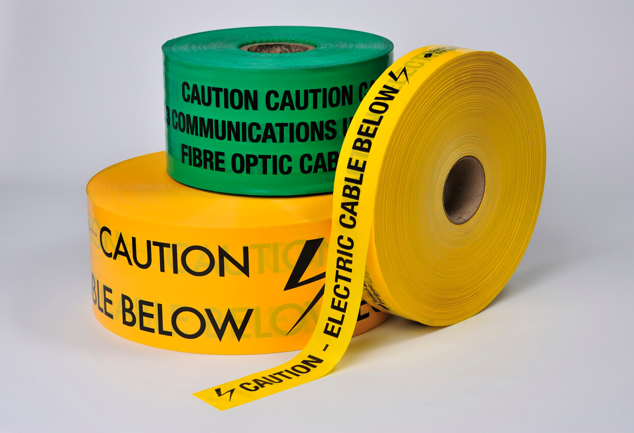 Locata® Underground Warning Tapes