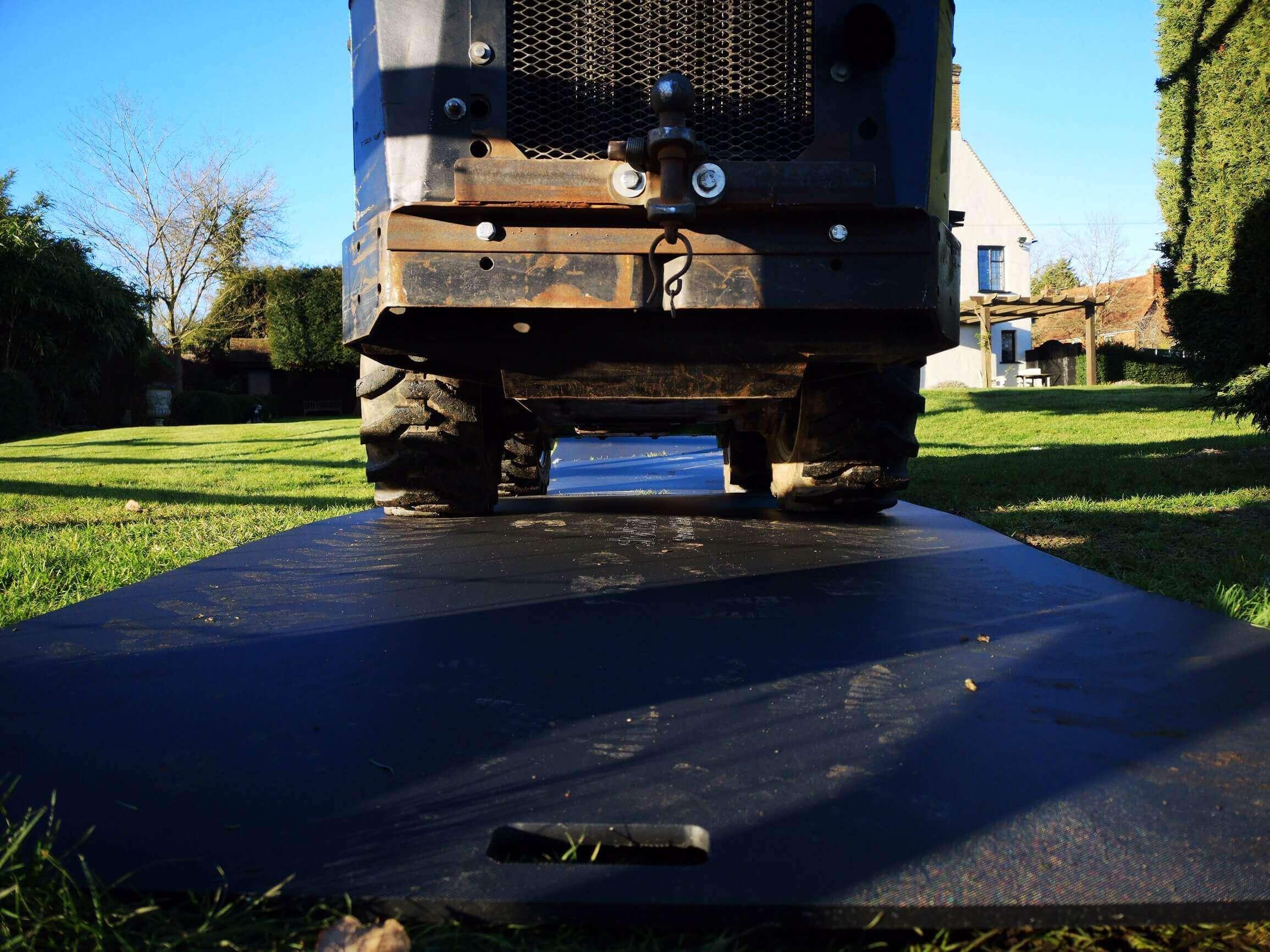 stokbord ground shield vehicle test